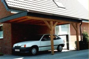 Carport mit Flachdach Oelde Sünninghausen