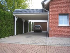 Flachdachcarport Oelde