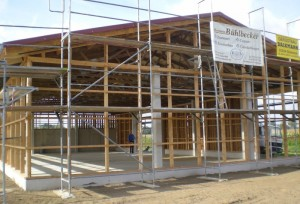 Nagelbinderhalle mit Dachstuhl in Lippetal Oestinghausen