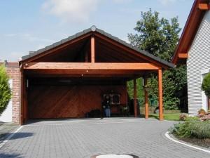 Holzcarport Wadersloh