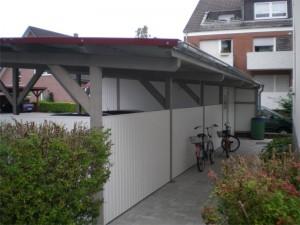 Carport mit Bikeport Lippstadt