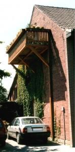 Balkon aus Holz Langenberg