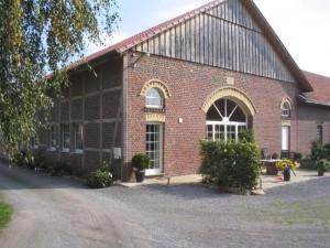 Giebel am Fachwerkhaus Lippstadt