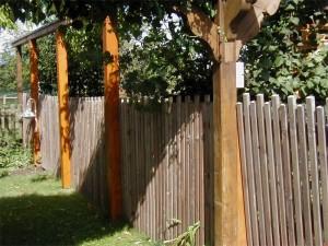Gartenzaun mit Pergola Beckum