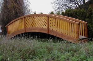 Brücke für Gartenteich Lippstadt Bad Waldliesborn