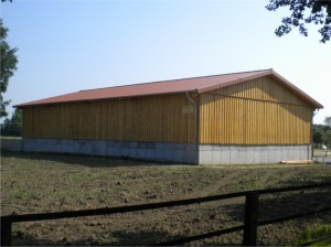 landwirtschaftliche Halle in Beckum Dünninghausen