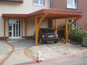 Haustürvordach in Beckum