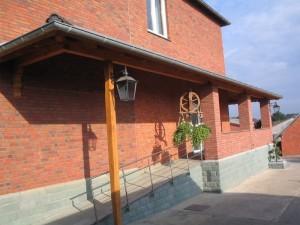 Haustürvordach in Ennigerloh