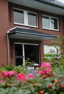 Haustürvordach in Lippstadt