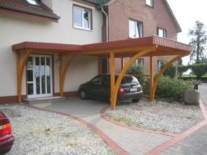 Haustürvordach in Bad Waldliesborn