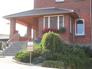 Haustürüberdachung in Oelde Ostenfelde